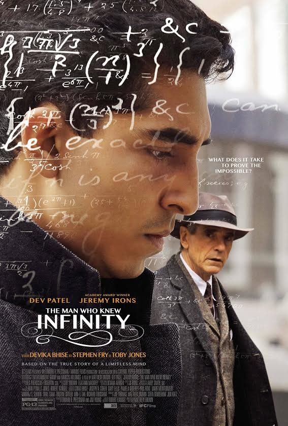 Official Movie Poster For The Man Who Knew Infinity